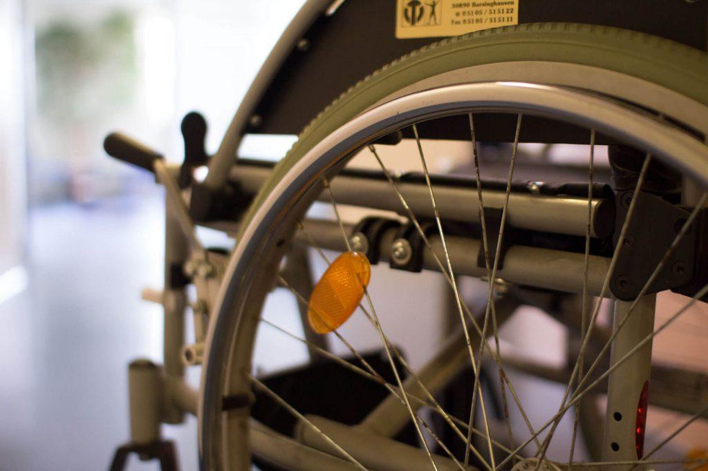 Arztpraxis Barsinghausen Rollstuhl